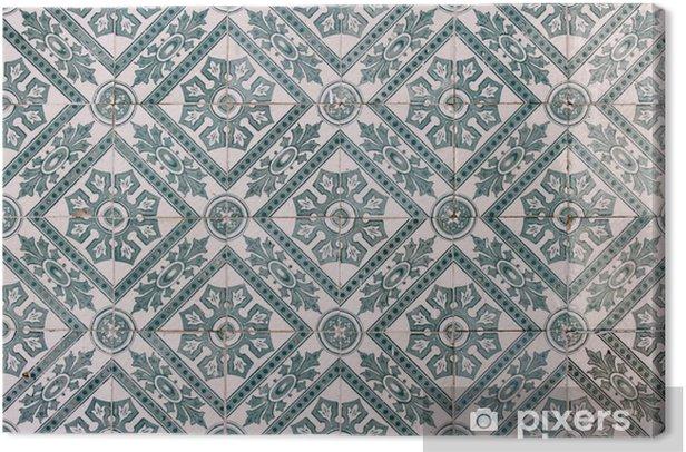 Tableau sur toile Lisbon tiles - Villes européennes