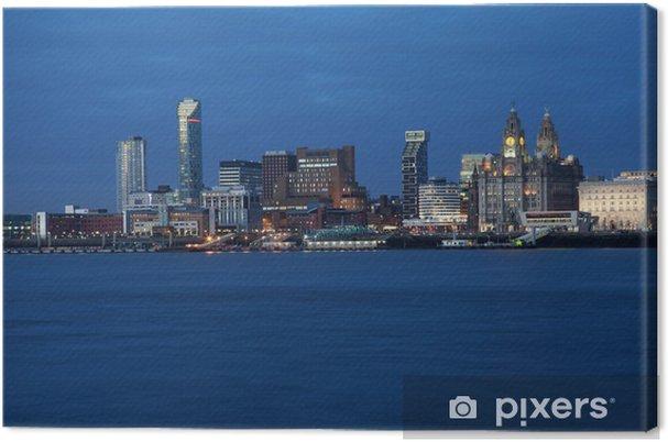 Tableau sur toile Liverpool City View - Autres