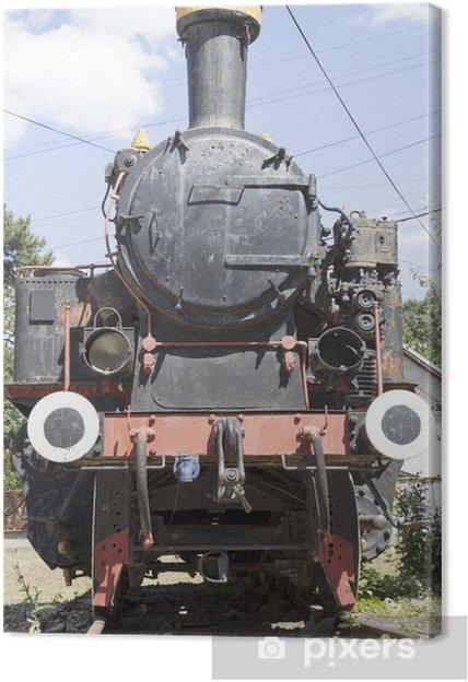 Tableau sur toile Locomotive d'époque - Thèmes
