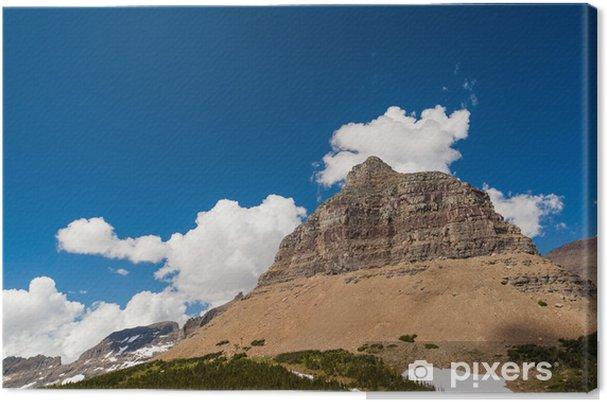 Tableau sur toile Logan passe paysage de montagne dans le parc national de Glacier - Amérique
