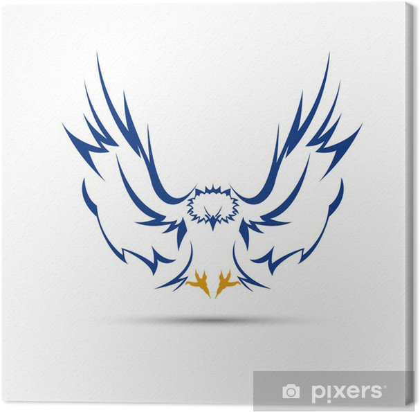 Tableau sur toile Logo aigle # Vecteur