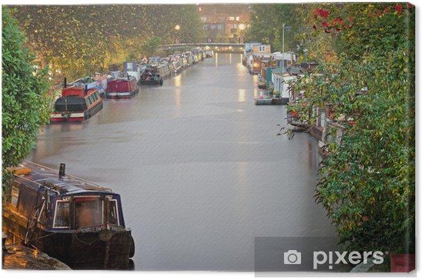 Tableau sur toile Londres, Little Venice - Villes européennes