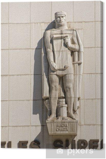 Tableau sur toile Los Angeles détail de la cour supérieure - Monuments