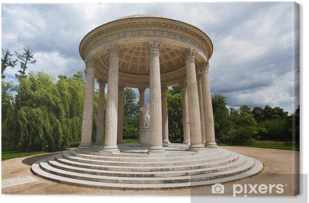 Tableau sur toile Love temple in Marie-Antoinette s estate Versailles Chateau - Villes européennes
