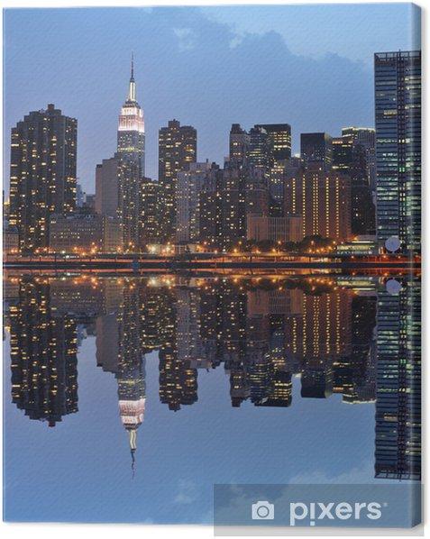 Tableau sur toile Lower Manhattan Skyline - Thèmes