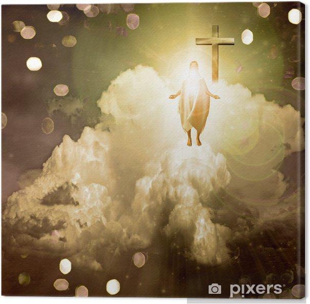 Tableau sur toile Lumière spirituelle - Signes et symboles