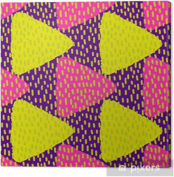 Tableau sur toile Lumineux seamless coloré. Vector illustration - Ressources graphiques
