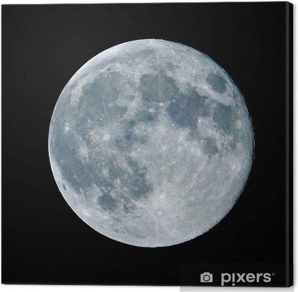 Tableau sur toile Lune de nuit nocturne - Thèmes