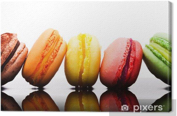 Tableau sur toile Macaron - Thèmes
