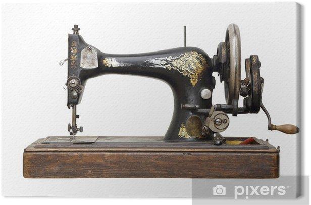 Tableau sur toile Machine à coudre antique - Industrie lourde