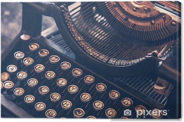 Tableau sur toile Machine à écrire antique - Autres objets