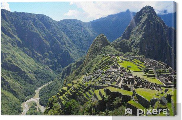 Tableau sur toile Machu Picchu (Pérou) - Thèmes