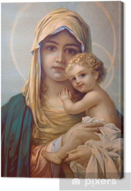 Tableau sur toile Madonna - Mère de Dieu - Thèmes