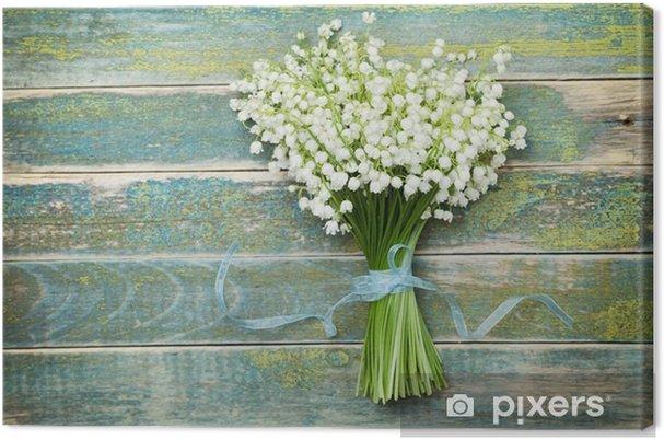 tableau sur toile magnifique bouquet de fleurs de lys de. Black Bedroom Furniture Sets. Home Design Ideas