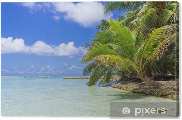 Tableau sur toile Maldives - Asie
