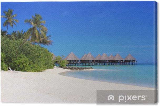 Tableau sur toile Maldves paradis - Paysages