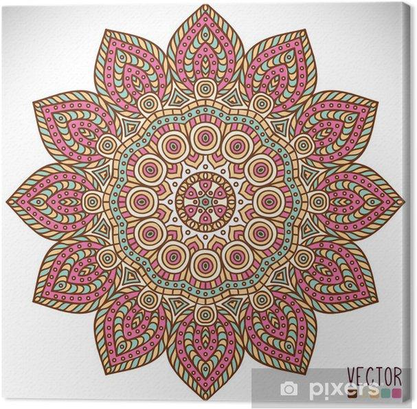Tableau sur toile Mandala - Arrière plans