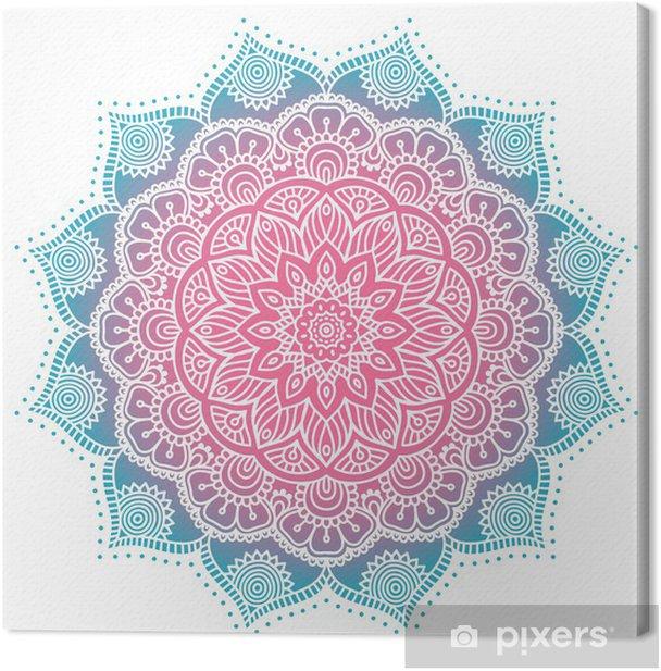 Tableau sur toile Mandala - Textures