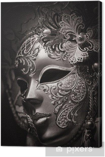 Tableau sur toile Masque de Carnaval, Venise -