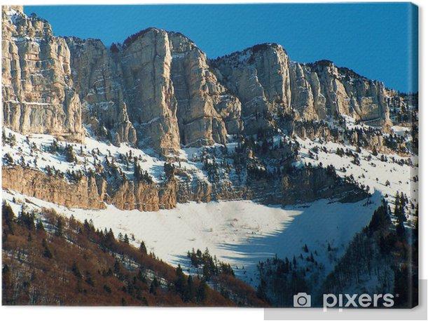 Tableau sur toile Massif du Granier - Merveilles naturelles