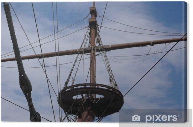Tableau sur toile Mastil barco - Bateaux