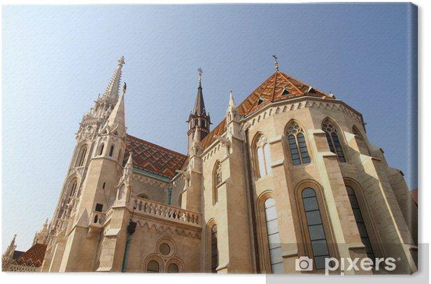 Tableau sur toile Matthiaskirche à Budapest - Europe