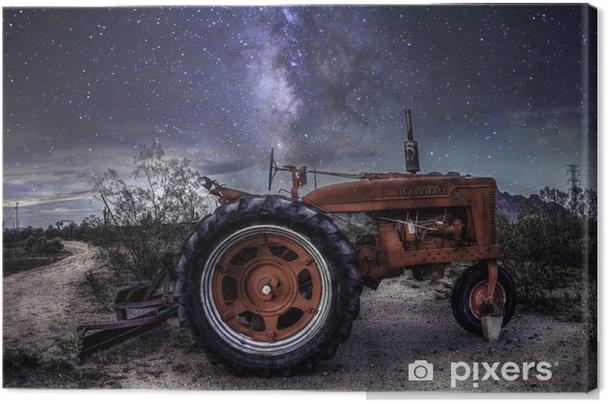 Tableau sur toile McCormick Farmall Tracteur - Voie Lactée - Tracteurs