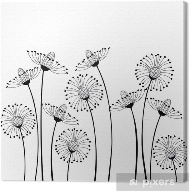 Tableau sur toile Meadow & fleurs - science &; nature