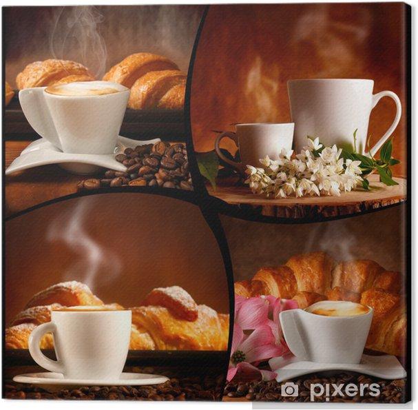 Tableau sur toile Mélanger caffè - Boissons chaudes