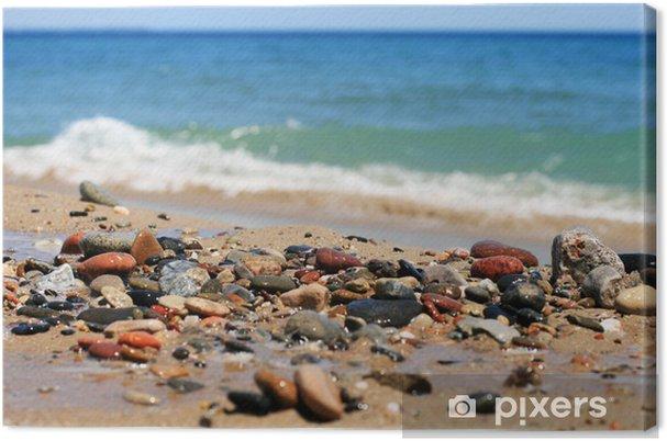 Tableau sur toile Mer pierres - Europe