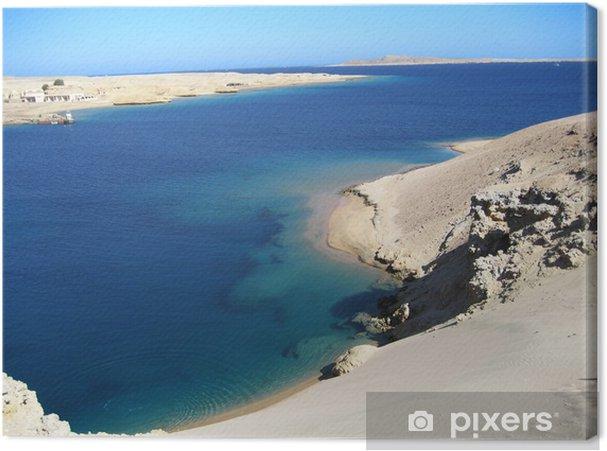 Tableau sur toile Mer Rouge, Egypte - Afrique