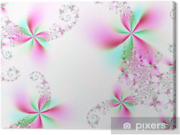 Tableau sur toile Merveilleuses fleurs - Fleurs