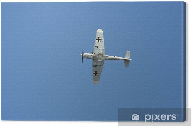 Tableau sur toile Messerchmitt bf 109 en vol - Dans les airs