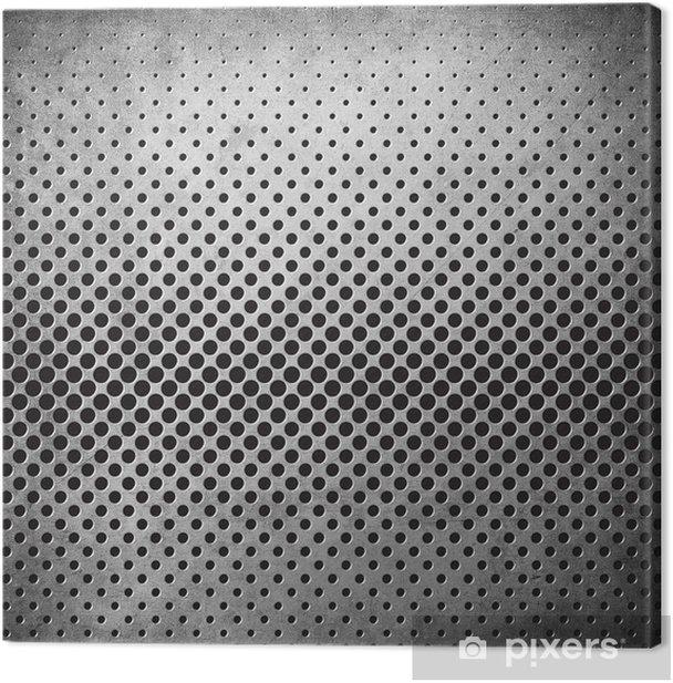 Tableau sur toile Metal Background Grunge - Thèmes