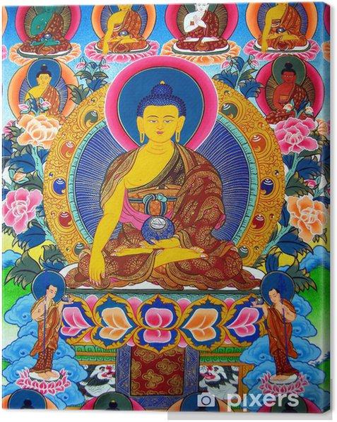 Tableau sur toile Mille Bouddhas - Religion