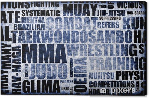 Tableau sur toile Mixed Martial Arts - PI-31