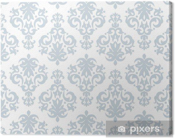 Tableau sur toile Modèle de papier peint sans soudure dans un style vintage - Arrière plans