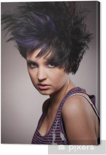 Tableau Sur Toile Modeliser Mon Rockiger Frisur
