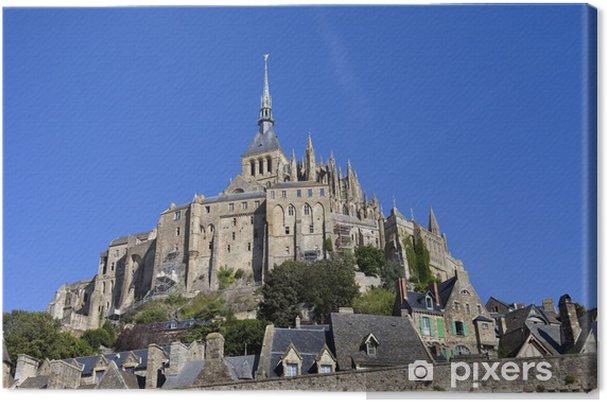 Tableau sur toile Mont saint michel - Monuments