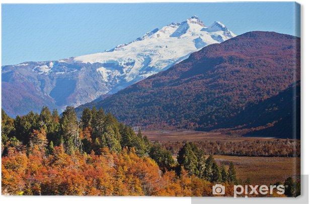Tableau sur toile Mont Tronador, Patagonie, Argentine - Amérique