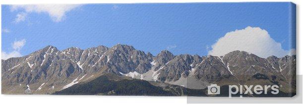 Tableau sur toile Montagnes au-dessus d'Innsbruck - Montagne