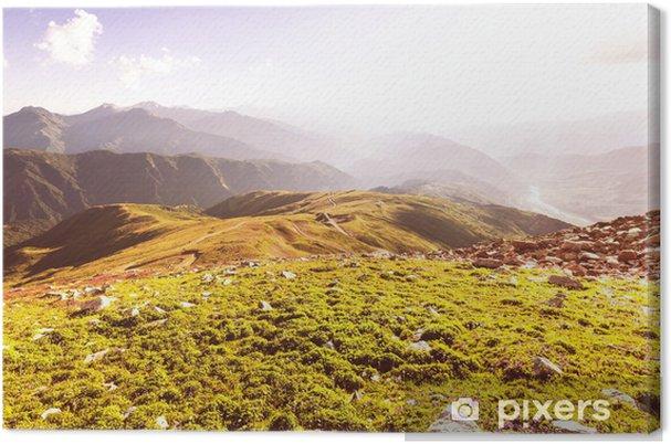Tableau sur toile Montagnes du Caucase - Nature et régions sauvages