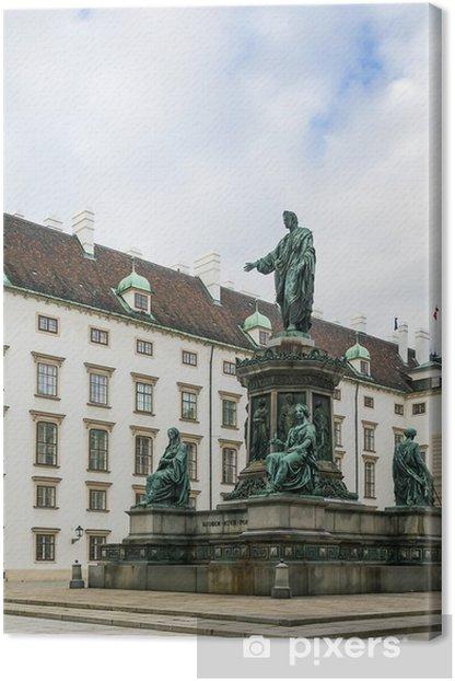 Tableau sur toile Monument à l'empereur Franz 1, Vienne - Europe
