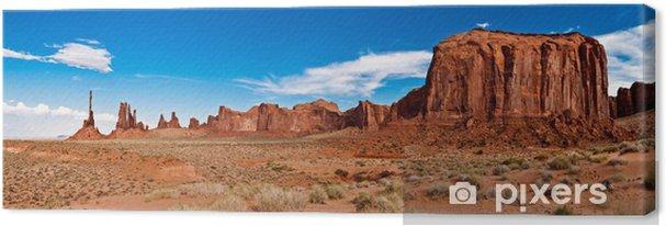 Tableau sur toile Monument valley 02 - Amérique
