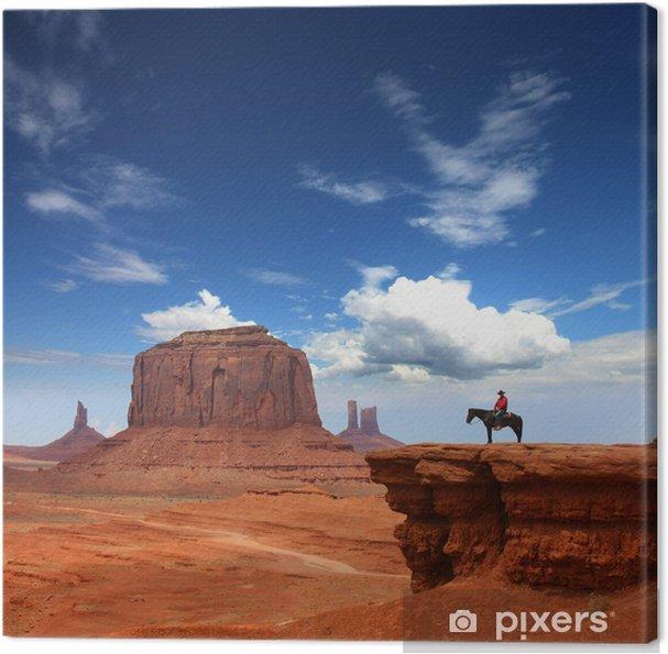 Tableau sur toile Monument valley - Désert