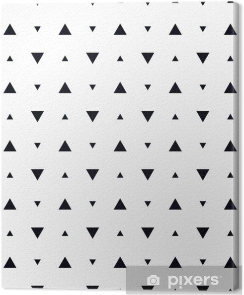 Tableau sur toile Motif géométrique abstrait scandinave - Ressources graphiques