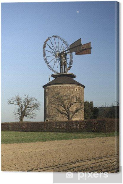 Tableau sur toile Moulin à vent dans Ruprechtov, République tchèque - Europe