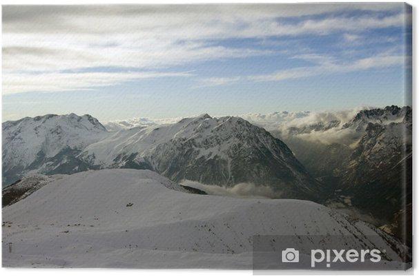 Tableau sur toile Mountains Alpe D'Huez (France) - Europe