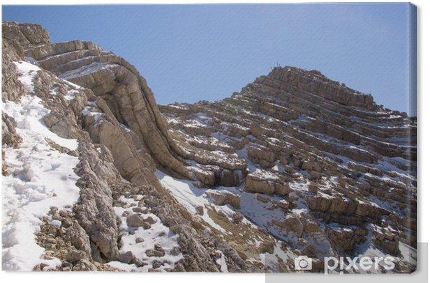 Tableau sur toile Moyen Tofana - Dolomites - Alpen - Europe