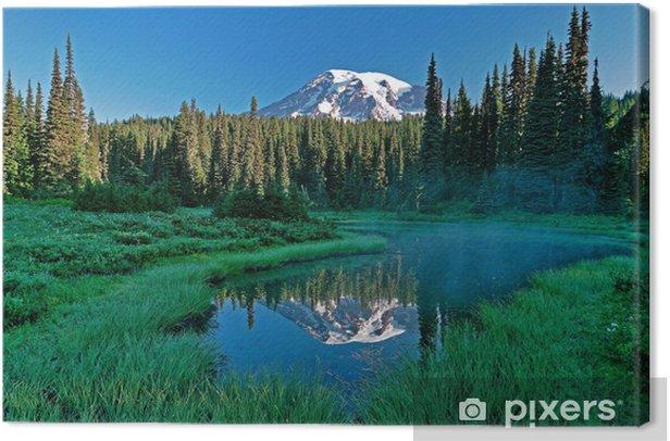 Tableau sur toile Mt. pluvieux et tarn - Campagne